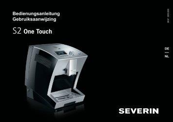 Bedienungsanleitung Gebruiksaanwijzing - S2 One Touch