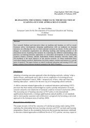 Abstract paper for CIAS Conference - Europa