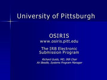 IRB - Office of Clinical Research, Health Sciences - University of ...
