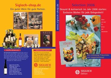 Selection 2006 Sigloch-shop.de