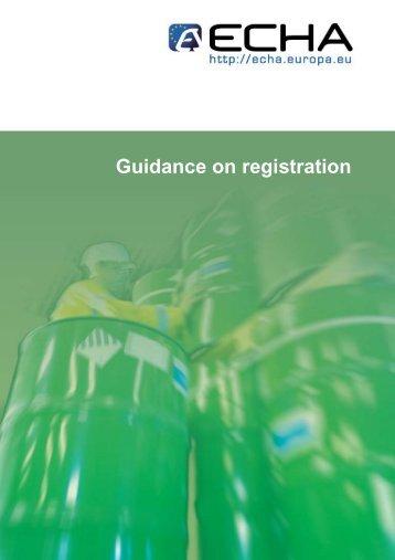 Guidance on registration - Centro Studi Ilva