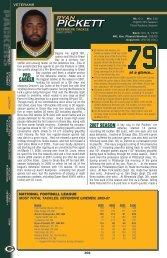PICKETT - Packers