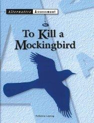 To Kill a Mockingbird - Perfection Learning