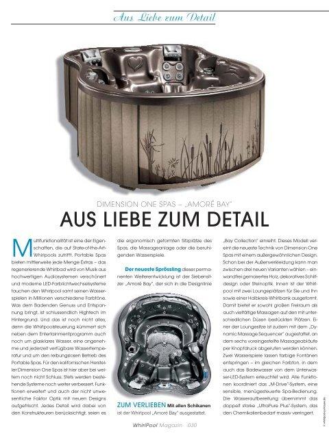 Dimension One Spas - Whirlpool-zu-Hause.de
