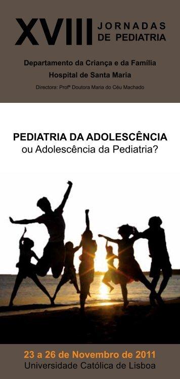 xviiijornadas de pediatria - Portal da Saúde