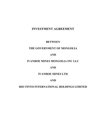 Seca Investment Agreement Commented 20101222