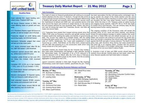 DMR Template - Ahli United Bank