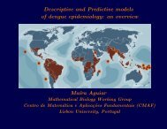 Descriptive and Predictive models of dengue epidemiology: an ...