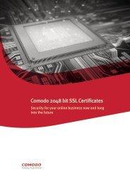 2048 Bit Certificates - SSL Certificate
