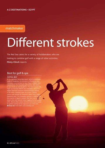 ABTA UK Golf Magazine - Soma Bay