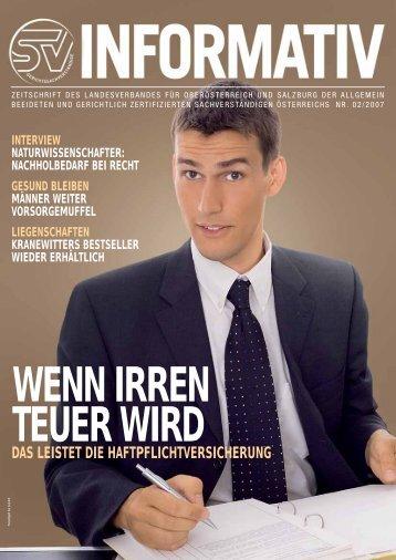 02/2007 - landesverband oberösterreich und salzburg