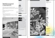 Artos Kurier Nr. 1-2004 (pdf) - Zentrum · Artos Interlaken