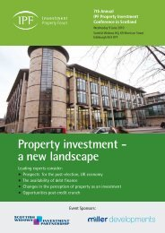 Property investment - a new landscape - Investment Property Forum