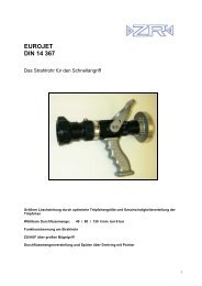 EUROJET DIN 14 367 - ZR Armaturen GmbH