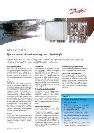 Akva Vita II S - Danfoss Redan A/S