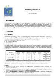 Rénover performant - Espace Info Energie Pays de la Loire