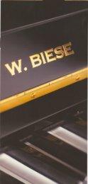 Prospekt download Biese Klaviere