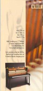 Prospekt download Biese Klaviere - Seite 6