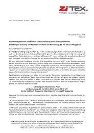 Einladung Patenschulung - ZiTex