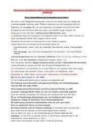 Rechenschaftsbericht 2006 - KFV-OSL