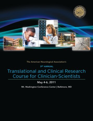 Translational and Clinical Research Course for Clinician-Scientists