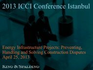 2013 ICCI Conference Istanbul