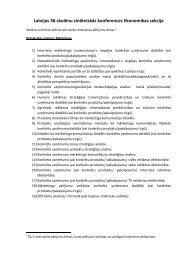 Latvijas 36.skolēnu zinātniskās konferences Ekonomikas sekcija - EVF