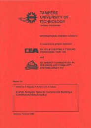 Energy Analysis Tests for Commercial Buildings - Ecbcs