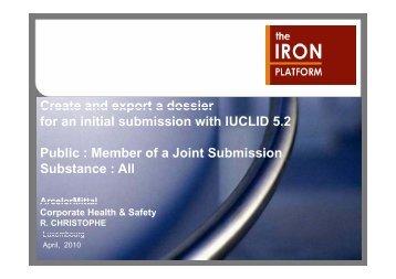 Export dossier - The Iron Platform