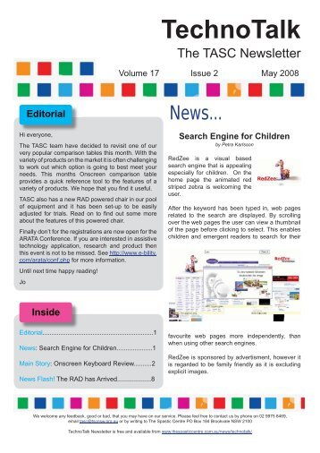 Onscreen Keyboard Review - Cerebral Palsy Alliance