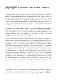 Ocean and Skies Inaugural address by Paul Guérin ... - Rudolf Reiber