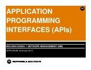 network management - Motorola Solutions Launchpad