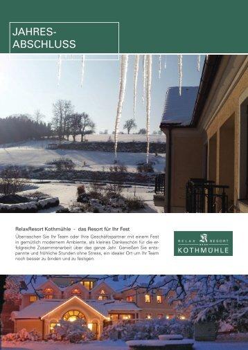 Jahresabschlussfeier - Symposion Hotels