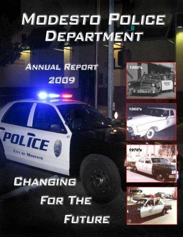 Annual Report 2009 (PDF) - City of Modesto
