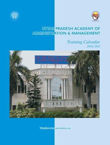 Training Calendar - UP Academy