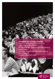 Learning with Case Studies in a Large Class Setting (Article 2 ...