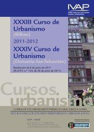 Cursos Urbanismo 2011-2012 - IVAP - Euskadi.net
