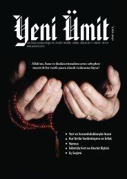 Allah'ım, Sana ve dualara itimadımı artır - Yeni Ümit