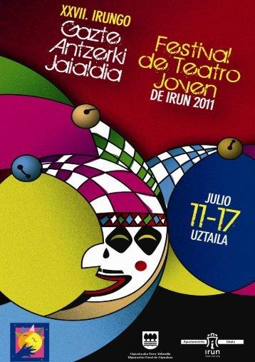 Irungo Gazte Antzerkiaren Jaialdia DOSIER - Ayuntamiento de Irun