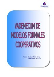 Vademecum de modelos formales cooperativos - IVAP