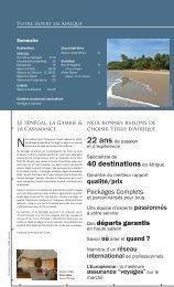 Présentation de la Brochure - Terre d'Afrique