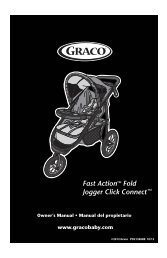 Fast Action Fold Jogger Click Connect - Graco