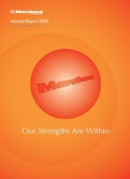 We will continue to exceed the expectations of all ... - Marubeni