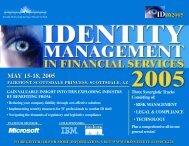 MAY 15-18, 2005 MAY 15-18, 2005 - ALM Events