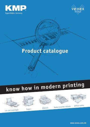 to download the complete  KMP catalogue - VENEX doo Skopje