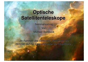 Optische Satellitenteleskope