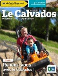 Le Calvados magazine N°112 - Été 213 - Conseil général du ...