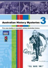 'myth buster'? - Australian History Mysteries