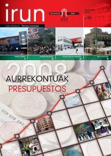 Revista 46 IRUN.indd - Ayuntamiento de Irun