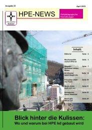 HPE-News 1.10.pub - Stiftung kreuznacher diakonie